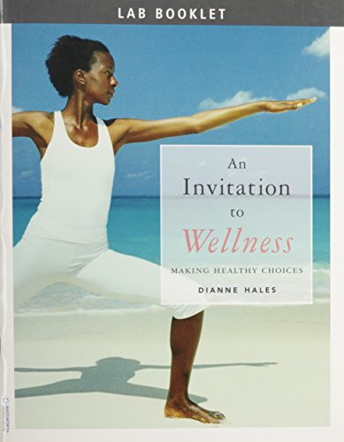 9780495108573: Custom Enrichment Module: Lab Booklet for Hales' an Invitation to Wellness: Making Healthy Choices
