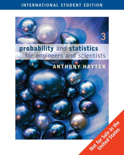 9780495108788: Probability and Statistics for Engineers and Scientists
