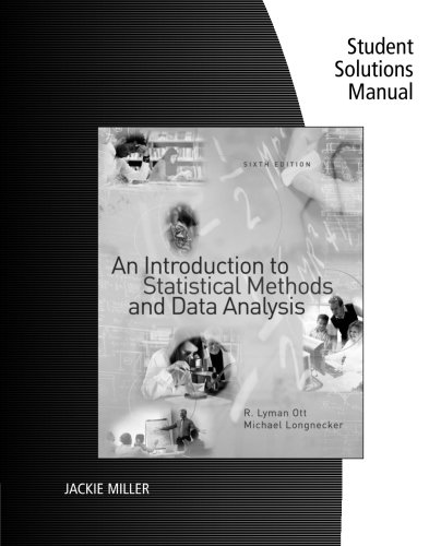 An Introduction to Statistical Methods and Data: Ott, R. Lyman
