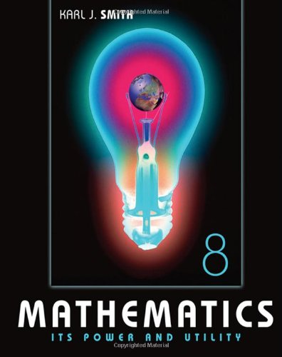 9780495110521: Mathematics: Its Power and Utility (with iLrn™ Tutorial, Conquering Math Anxiety, and CD-ROM)