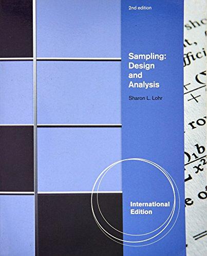 9780495110842: Sampling: Design and Analysis, International Edition