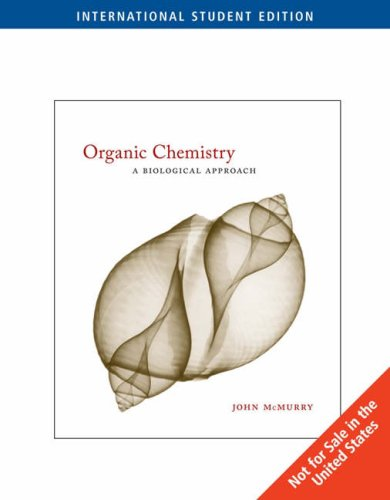 9780495111276: Organic Chemistry: A Biological Approach