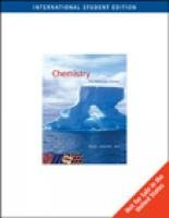 9780495112563: Chemistry (ISE): The Molecular Science