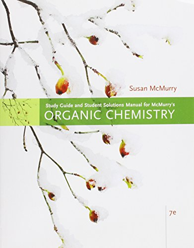 9780495112686: Study Guide with Solutions Manual for McMurry's Organic Chemistry, 7th