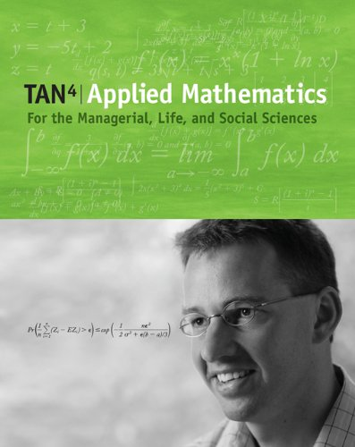 9780495112921: Applied Mathematics for the Managerial, Life, and Social Sciences