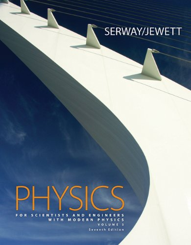 Physics for Scientists and Engineers with Modern Physics, Chapters 39-46 (with CengageNOW 2-Semester, Personal Tutor Printed Access Card) (0495112933) by Serway, Raymond A.; Jewett, John W.