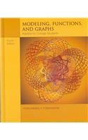 9780495113065: Modeling, Functions, and Graphs