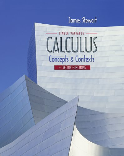 9780495113362: Single Variable Calculus with Vector Functions: Concepts and Contexts for AP* Calculus