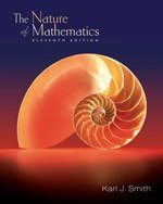 9780495113478: Nature of Mathematics