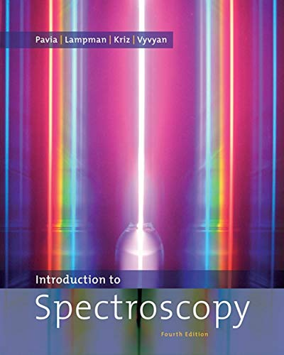 9780495114789: Introduction to Spectroscopy