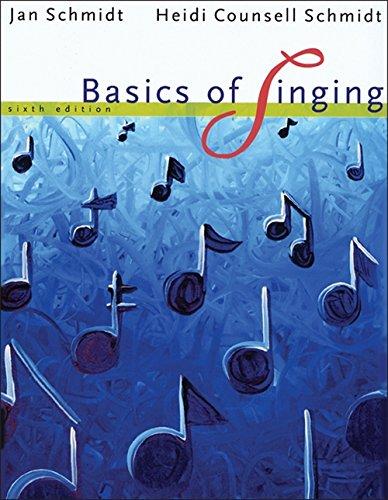 Basics of Singing: Heidi Counsell Schmidt,