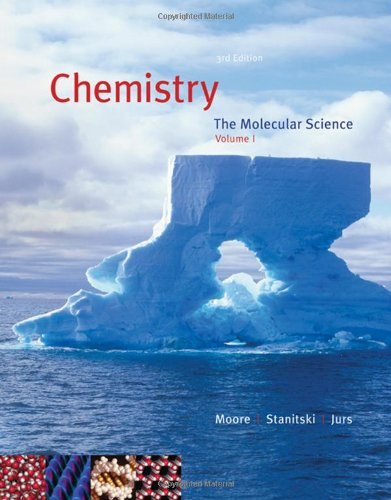 9780495115984: Chemistry: The Molecular Science, Volume I, Chapters 1-12 (with CengageNOW 2-Semester Printed Access Card)