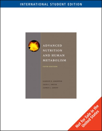 9780495116615: Advanced Nutrition and Human Metabolism