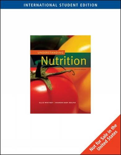 Understanding Nutrition: Whitney, Eleanor Noss;