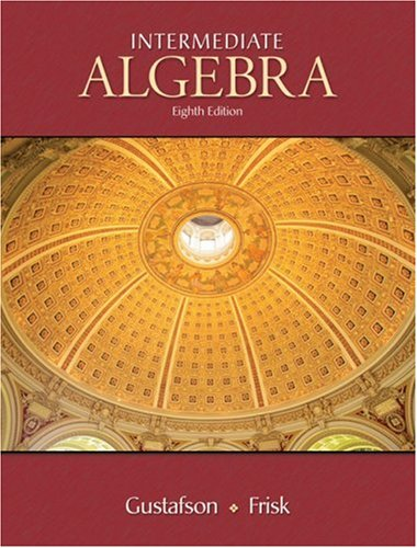 9780495118022: Intermediate Algebra