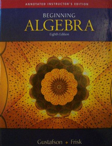 9780495118305: Aie Beginning Alg 8e