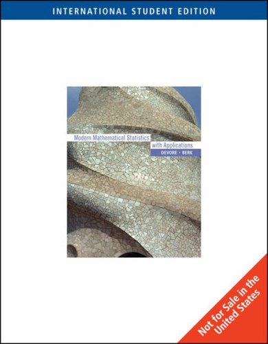 9780495118602: Modern Mathematical Statistics with Applications