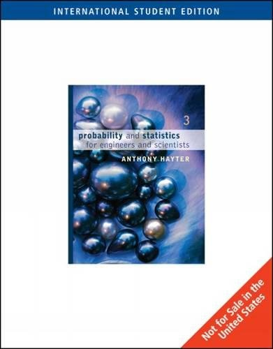 9780495118633: Probability and Statistics for Engineers and Scientists