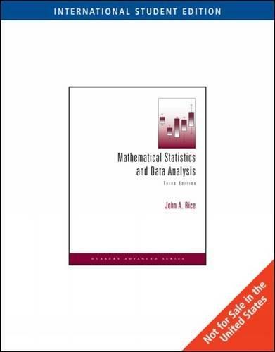 9780495118688: Mathematical Statistics and Data Analysis, International Edition (with CD Data Sets)
