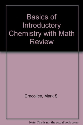 9780495119647: Basics of Introductory Chemistry with Math Review