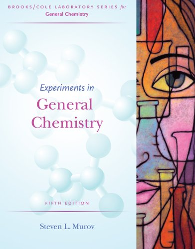 9780495125389: Experiments in General Chemistry