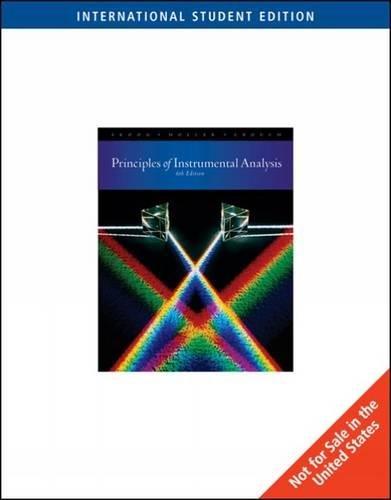 9780495125709: Principles Of Instrumental Analysis