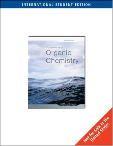 Fundamentals of Organic Chemistry: Mcmurry Simanek