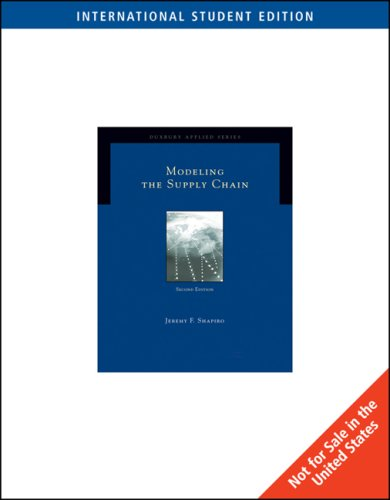 9780495126119: Modeling the Supply Chain, International Edition (Ise)