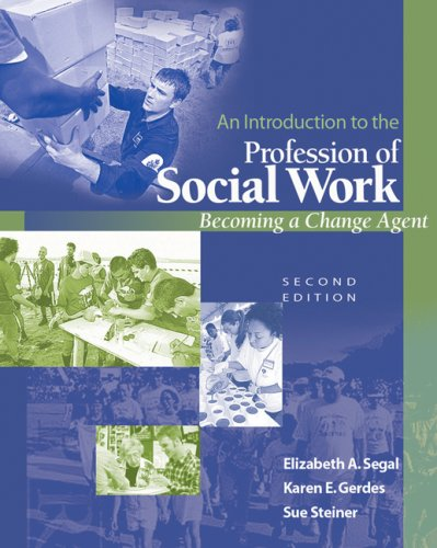 9780495127093: An Introduction to the Profession of Social Work: Becoming a Change Agent