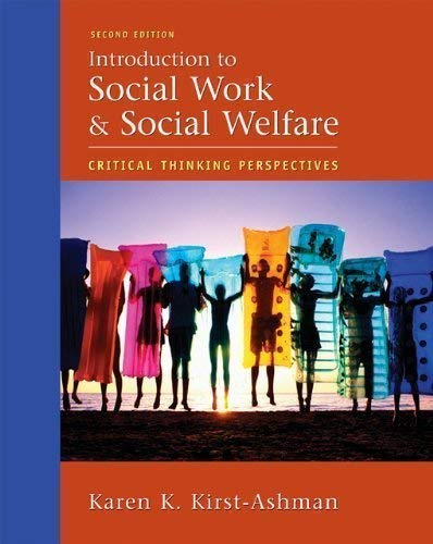 9780495127352: Introduction to Social Work welfare Critical thinking perspective