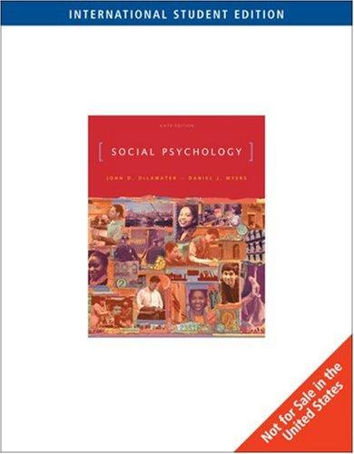 9780495128182: Social Psychology