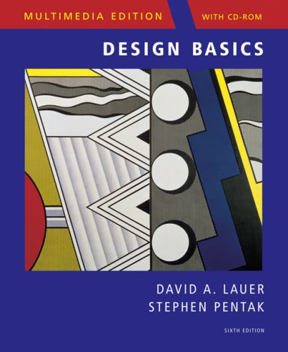9780495128458: Design Basics, Multimedia Edition (with ArtExperience CD-ROM)