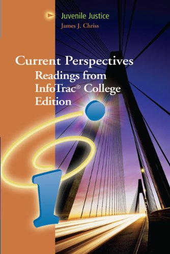 9780495129950: Juvenile Justice: Current Perspectives from InfoTrac College Edition