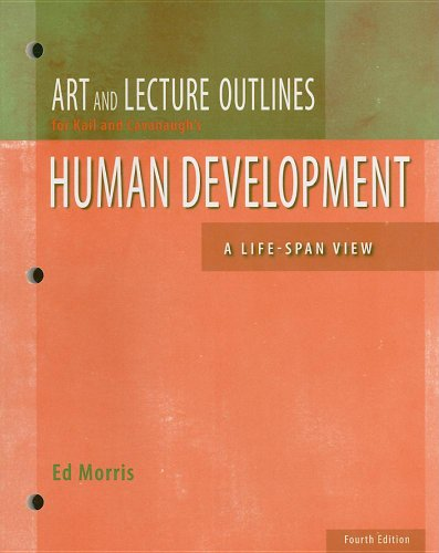 9780495130642: Art and Lecture Outlines for Kail and Cavanaugh's Human Development: A Life-Span View