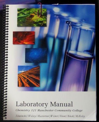 9780495135463: Chem 121 Lab Manual