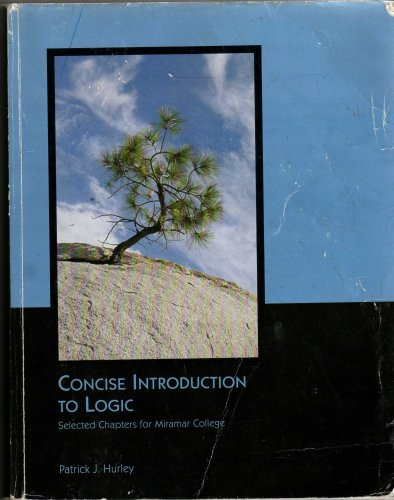 Concise Introduction to Logic / Custom Edition: Hurley, Patrick J.