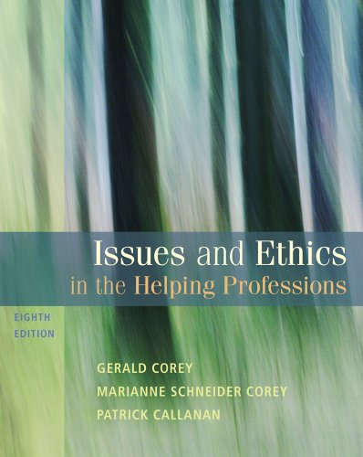 9780495151418: Bundle: Issues and Ethics in the Helping Professions, 8th + WebTutor™ on Blackboard Printed Access Card