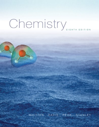 Bundle: Chemistry (with CengageNOW Printed Access Card), 8th + Student Solutions Manual: Whitten, ...