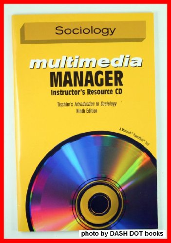 Sociology Multimedia Manager - Instructors Resource CD