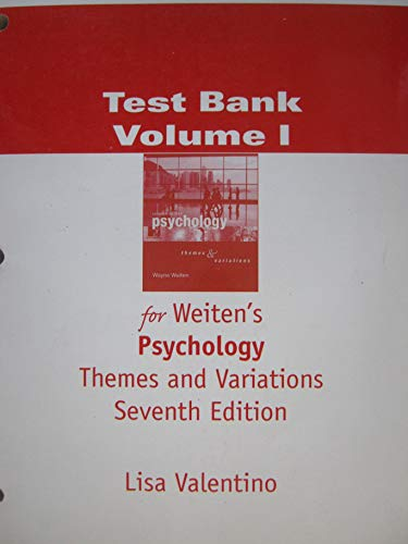 9780495170426: Psychology: Themes and Variations
