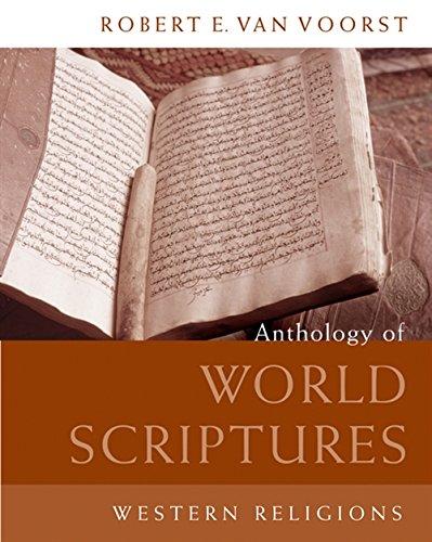 9780495170594: Anthology of World Scriptures: Western Religions