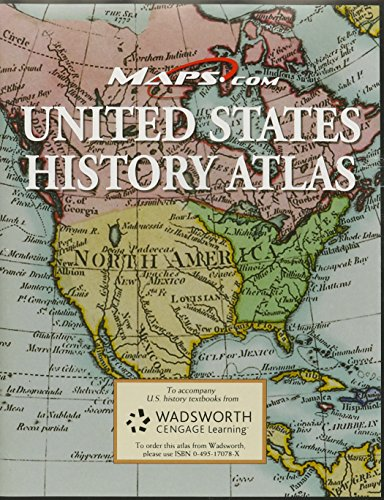 9780495170785: United States History Atlas