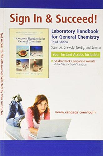 Laboratory Handbook for General Chemistry: n/a