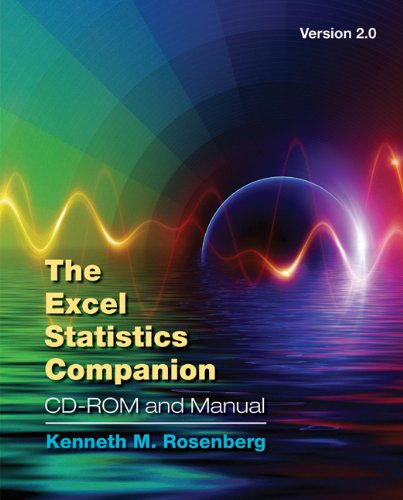 9780495186953: The Excel Statistics Companion CD-ROM and Manual, Version 2.0