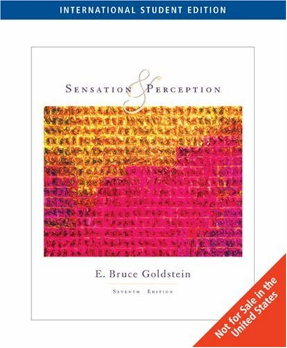 9780495187783: Sensation and Perception