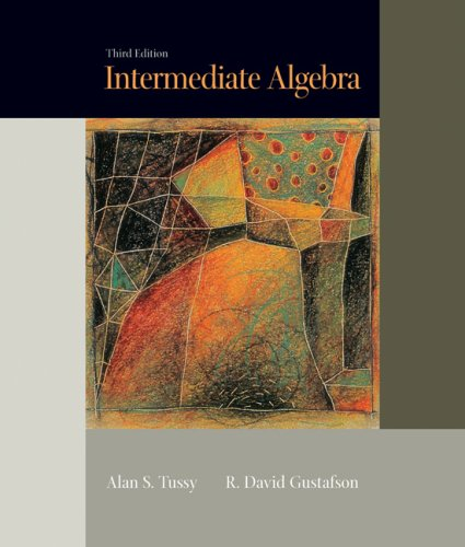 Intermediate Algebra (Updated Casebound Media Edition with: Alan S. Tussy,