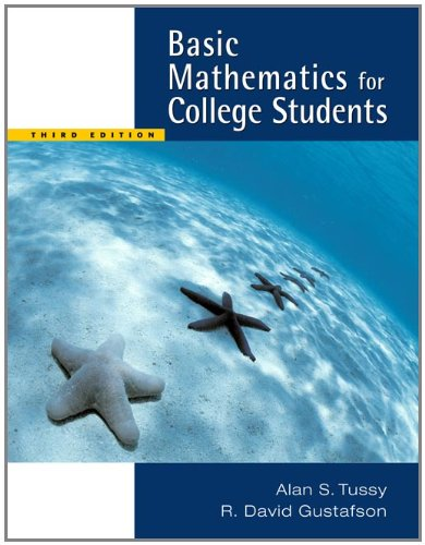 9780495188957: Basic Mathematics for College Students, Updated Media Edition (with CD-ROM and MathNOW™, iLrn™ Tutorial Printed Access Card) (Available 2010 Titles Enhanced Web Assign)
