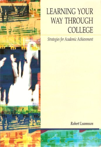 9780495195931: Learning Your Way Through College: Strategies for Academic Achievement