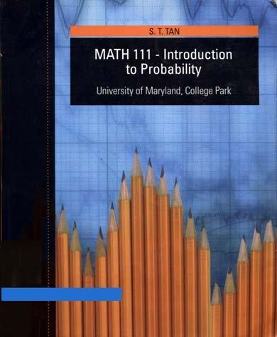 MATH 111-INTRO.TO PROBAB.-W/CD: S.T. Tan
