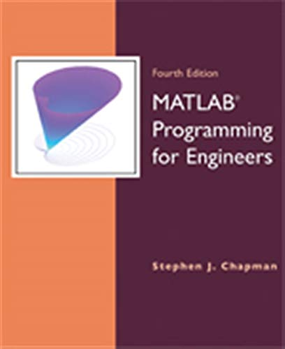 9780495244493: MATLAB Programming for Engineers
